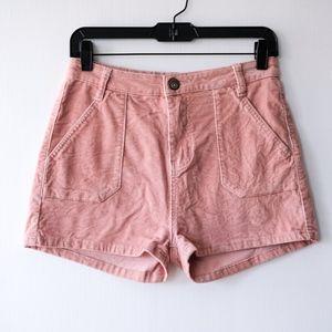 UO High Waisted Corduroy Shorts